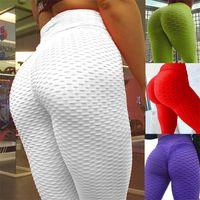Bumps Style Leggings Put Hip Fold Elastic High Waist Legging Breathable Slim Pants indoor Sports tik tok leggings tik tok leggings 123 Z2
