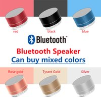 wholesale A10 Mini Portable Speakers Bluetooth Speaker Wireless Handsfree with FM TF Card Slot LED Audio Player for MP3 Tablet PC in Box