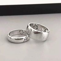 925 sterling silver Couple Rings for mens and women Party promise jewelry gift