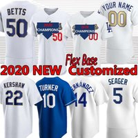 2021 Gold World Series Los Angeles Mookie Betts Jersey Cody Bellinger Corey Seager Walker Buehler Clayton Kershaw Justin Turner Julio Urias Dustin May Max Muncy