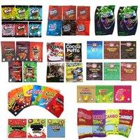 TROLLI TRRLLI TRIPS AHOY DOWEEDOS MEDIBLES CHEETOS GENERAL SOUR BROWNIE BITES JOKER CARIBO WORMS MILES Baribo Bags Resealable Edibles Empty Mylar Packaging