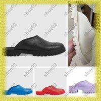 woman Designer slipper fashion Sandals Beach Thick or Thin bottom slippers platform Alphabet lady High heel slides shoe02 01