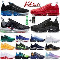 TN Plus Mens Running Shoes 2.0 Latest Worldwide Hyper Royal Light Bone Triple Black Gym Red Men Womens Sports Sneakers Size36-47 Trainers