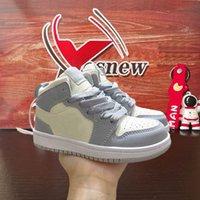 infant baby boy kids Jumpman 1 High OG Basketball shoes Designer Toddler baskets enfants Sneakers trainers