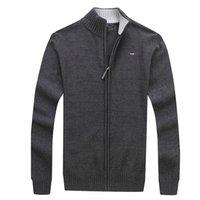 New Men's Sweater Eden Men Winter Spring Cotton CLassica jackets casual zipper size M-3XL