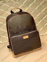 Mens Campus Backpack bag Womens Nigo VIRGIL NIL Wallet Briefcase Handbag Travel Leather Luggage Business Totes N40380