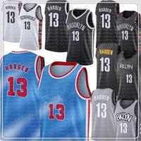 13 Harden Jersey Kevin 7 Durant 11 Irving 2020 2021 Kyrie New City Mens Basketball Jerseys 9889