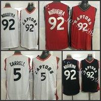 Brooklyn Nets #5 DeMarre Carroll Icon Black Swingman Jersey