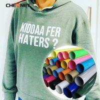 30cmx100cm Decorative Stickers PVC Heat Transfer Vinyl T-shirt Iron On HTV Printing