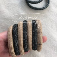 ealstic rubber band printed CO bands fashion hairtie classic letter hair rope C accessories
