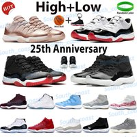 Men basketball shoes high sneakers jubilee 25th anniversary bred legend blue spack jam concord 45 pantone cool grey low cherry mens trainers