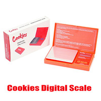 Cookies Digital Scale Red Blue Accurate 500g 0.1g Jewelry Gold Tobacco Stash Weight Vapes Measurement Device Flip Style Backwoods Measure Kit