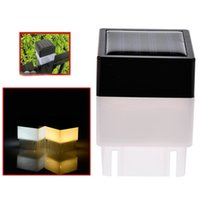 Solar LED Post Cap Light Outdoor Waterproof Fence Pillar Lamps For Wrought Iron Fencing Front Yard and Backyards Gate Landscaping Residential
