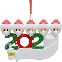 diy pvc mask 2021 - Diy Name Blessing Pvc Mask Snowman Christmas Tree Hanging Ornament Pendant Party Decoration Gift Favor