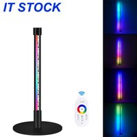 Discount floor standing lamps for living room RGB Remote Control Discoloration Corner Floor Lamp Novelty Lighting Nordic Decoration Home Lamps for Living Room Night Light Dimming Standing Bedroom Decor Lights
