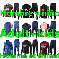 chandal futbol Adult and kids survetement foot jerseys 20 21 soccer tracksuit maillot mens football jersey training jogging tuta jacket