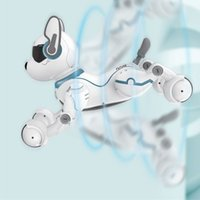 Wholesale Remote Control Robot Dog Toy for Kid Early Education Toy Smart Stunt Puppy Robot Q22D for kids