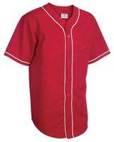 04345 656544 Blank Custom Jersey Men Women Size S-3XL White Button Down Pullover