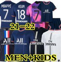 psgjersey Maillots de football kits 20 21 22 soccer jerseys 4TH 2020 2021 2022 MBAPPE ICARDI NEYMAR shirt JR men kids sets maillot foot hommes enfants