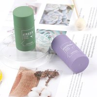 Green Tea Cleansing Solid Mask Deep Clean Beauty Skin GreenTeas Moisturizing Hydrating Face Care Facial Masks & Peels T427