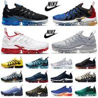 nike Vapormax Plus tn se Mens running shoes fashion Fresh Pure Platinum worldwide Sunset Atlanta Neon Triple Red white Black royal men women trainers sports sneakers