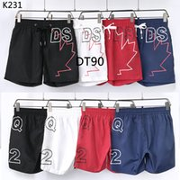 DSQ Brand Mens Shorts turtle starfish Surf Board Shorts Summer Sport Beach Homme Bermuda Short Pants Quick Dry Boardshorts 8658