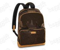 Nigo X Abloh LE Bag Mens Campus Designer Backpack Giant Ebene Damier Womens Canvas Coated Leather Crossbody Old Flower Luxurys Brand Backpacks Luggage