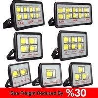 Outdoor LED FloodLight Fixture 600W 500W 400W 300W IP66 Waterproof Exterieur COB Flood light 90 Degree Beam Angle Spotlight