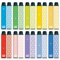Original VAPEN CUBE 1600 PUFFs Disposable Vape Pen Kits 650mAh Battery 5.5ml Capacity e Cigarettes Portable Vaporizer Pre-Filled Bars Vapors