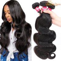 9A Brazilian Body Wave Bundles Unprocessed Brazilian Straight Human Hair Extension Deep Wave Hair Water Wave Virgin Hair Bundles
