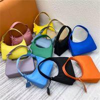 Top quality New Women's Re-edition 2000 tote Nylon leather Shoulder Bag Luxury Women's Shoulder Bag Crossbody Bags Handbag Hand caught bag