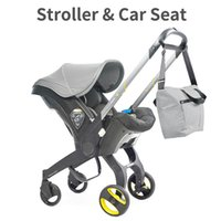 Baby Stroller 4 In1 Car Seat 0-2 Years Old Born Carriage Portable Pushchair Cart Strollers#