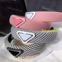 2021 fashion lattice Headbands girl charm Retro Headwraps Hairband Headwrap Woman Jewelry Hair Accessories gift