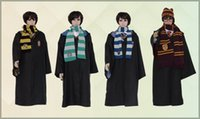 Wholesale movies clock - 2015 new Fasion Cosplay Custume Harry Potter Custume Academism Scarfs Ties Plus Size Harry Potter magic clock Theme Custome A082535