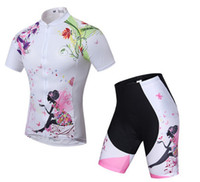 Wholesale Cycling Clothes For Women - 2016 breathable Women Cycling Jerseys new style Short Sleeve quick dry Cycling Clothing for women Free shipping