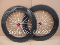 Wholesale Accept Sample Order - Wholesale-100% carbon fiber cycle wheels 88mm clincher (sample order accept)
