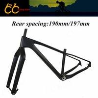 Wholesale Toray Carbon Bike Frame - Toray T700 high mould carbon fat bike frame Fat Bike Frame Full carbon snowbike frame 26er CC-CMF-008