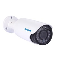 "Wholesale Varifocal Ip Cameras - ESCAM HD3300V 1 3"" CMOS 2.0MP HD 1080P Varifocal IR 20M Onvif POE Waterproof NetworkDay Nioght IP Camera Outdoor CCTV Camera"