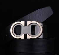 Wholesale Vintage Fancy - 100% cowhide genuine leather belts for men cowboy Luxury strap brand male vintage fancy jeans designer belt men high quality