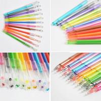 Wholesale gel gems for sale - Group buy New Colorful Diamond Gel Pen Crystal Gem Neutral Pen Rewards Gift For Kids Students