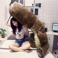 """Wholesale Bear Nose - giant teddy bears for sale Big nose bears 34"""" 51"""" 59"""" Size 85cm 130cm 150cm Brown Grey Hedgehog Color birthday gift"""