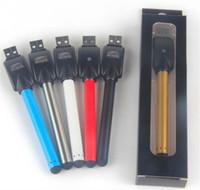автоматические батареи для электронных сигарет оптовых-CE3 батарея Bud Touch o Pen CE3 Vape Pen 510 нить батареи 280 мАч тонкий автоматический E сигареты, пригодный для воска нефти картридж испаритель