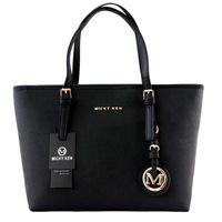 Wholesale Michael Handbags - High quality women bags MICHAEL KEN lady PU leather handbags famous Designer brand bags purse shoulder tote Bag female 6821