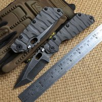 Wholesale st ball - Y START SMF Tactical Folding Knife Titanium handle D2 Tanto blade Ball bearing hunting survival outdoor ST Knives EDC self defense Tools