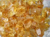 Wholesale Gem Ore - Natural Yellow Citrine Crystal Gems Stone Ore Raw Mineral Specimens Stone Reiki Healing Wholesale