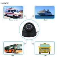 hd водонепроницаемая система безопасности оптовых-HD 700TVL Vehicle Security Camera System Waterproof IR Night Vision Wide Angle Monitor Outdoor Surveillance Camera Bus Taxi Boat