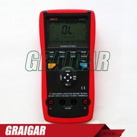 Wholesale inductance tester for sale - Group buy Portable Handheld LCR Meters UNI T UT611 Inductance Capacitance Resistance Frequency Tester with Series Parallel Mode LCR Meters
