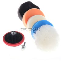 Wholesale 5X3 quot Buffing Pad Kit Compound Polishing Auto Car Detail quot Thread