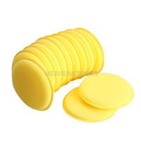 Wholesale Vehicle Cleaning Brushes - 12pcs Polish Wax Foam Sponges Applicator Pads for Clean Car Vehicle Glass hv3n A5