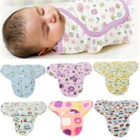 Wholesale Soft Newborn Swaddle Wrap Warm Blanket Baby Infant Flannel Sleeping Bag M baby clothes